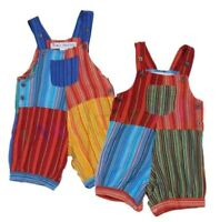 Funky Hippy Patch Dungarees 2-3 Years Old, In Stock