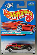 Hot Wheels 1:64 Scale 1998 Tropicool Series CLASSIC CADDY (LACE WHEELS)