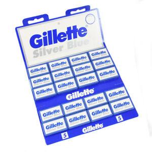 Gillette Silver Blue Double Edge Razor Blades 25 | 50 | 100 Pack
