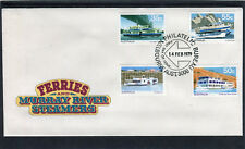 1979 Ferries And Steamers Set Of 4 First Day Cover, Mint Condition