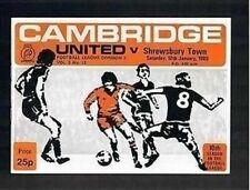 League Fixtures (1980-1992)