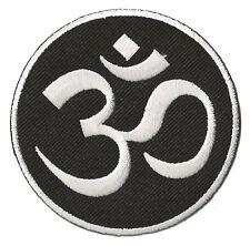 Ecusson patche Om Aum Ohm hindouisme hindu patch thermocollant