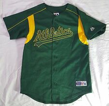 Oakland A's Athletics Majestic Jersey Youth Large Made in USA