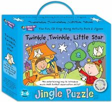 Music for Kids Twinkle Twinkle Little Star Jingle Puzzle -childrens activity box
