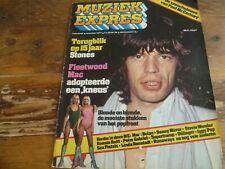 Muziek Expres 1977: Rolling Stones/McCartney/Marc Bolan/Iggy Pop/Peter Gabriel