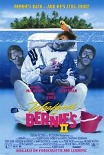 WEEKEND AT BERNIES 2 Movie POSTER 27x40 Andrew McCarthy Jonathan Silverman Terry