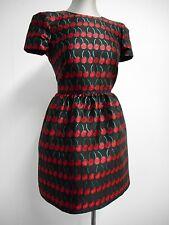 Stunning Valentino dress Red label cherry dress shimmer thread short 38 UK10