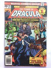 TOMB of DRACULA #49 FN 6.0 MARVEL COMICS Bronze Werewolf 1970s Colan Wolfman