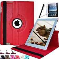 360° Tasche iPad 4 iPad 3 iPad 2 Schutzhülle PU-Leder Case Smart Cover + Folie R