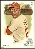 Tony Perez 2019 Allen and Ginter 5x7 #104 /49 Reds