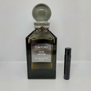 Tom Ford - Oud Wood - 5mL/10mL SAMPLE Glass Atomizer