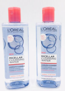 2X Loreal Micellar Cleansing Water Complete Cleanser For Normal/Dry Skin 13.5oz