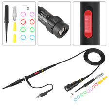 60mhz 200mhz 1x 10x High Precision Oscilloscope Scope Probe Clip Test Probe Kit