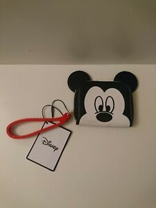 New With Tags Disney Mickey Mouse Purse With Wrist Strap Loop