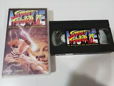 STREET FIGHTER II LA PELICULA VHS CINTA TAPE CASTELLANO ANIME MANGA NEW NUEVO