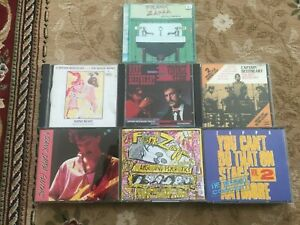 7 x FRANK ZAPPA / CAPTAIN BEEFHEART : 4 x CD + 3 x 2-CD Box