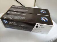 GENUINE HP 312X CF380XD High Yield Black Toner Cartridge MFP M476 NEW OEM BF575