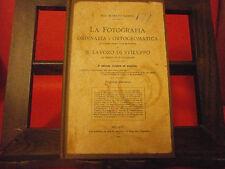 """Namias """"La fotografia ordinaria e ortocromatica…"""" Il Progresso Fotografico, 1909"""