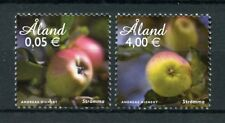 Aland 2011 MNH Apples Stromma Apple 2v Set Nature Fruit Fruits Stamps