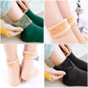 Winter Warm Socks 4Pcs Women Soft Cashmere Wool thermal Sock Ladies Velvet Boots