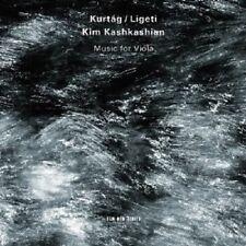 Kim Kashkashian-Kurtag, Ligeti: Music for Viola CD NUOVO Kurtag, György