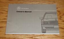 Original 1990 Mercedes Benz 190E 2.6 Owners Operators Manual 90