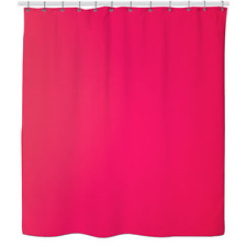 PEVA Hot Pink Shower Curtain Liner w/magnets Eco-Friendly, Mildew Resistant NEW