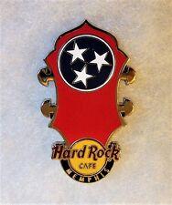HARD ROCK CAFE MEMPHIS HEADSTOCK FLAG SERIES PIN # 80223