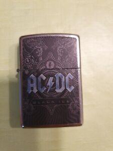 ACDC Black  ICE Zippo feuerzeug mit gravur