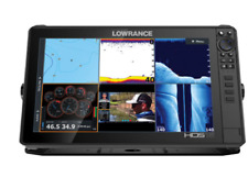 Lowrance HDS-16 LIVE Fishfinder/Chartplotter with Active Imaging 3in1 Transducer