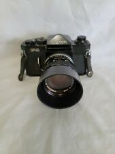 Vintage Canon F-1 Camera Body with Canon Lens Fd 50mm