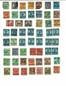 Collection of US Precancels - Chicago