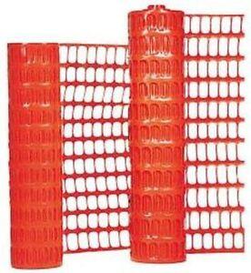 Schutznetz Warnnetz Bauzaun Wildzaun 1 x 30 Meter