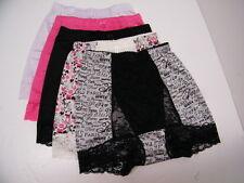 "Rhonda Shear ""Pin-Up Girl"" 5-pack Control Lace Panty-PARIS-Small-NEW"