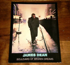 JAMES DEAN Boulevard of broken Dreams Painted by HELNWEIN Arte Cinema Fotografia
