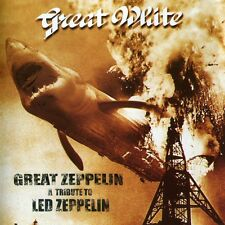 GREAT WHITE - GREAT ZEPLIN A TRIBUTE ALBUM COVER POSTER 24 X 24 Inches