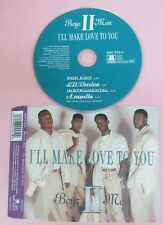 CD Singolo BOYZ II MEN I'LL MAKE LOVE TO YOU 1994 MOTOWN 860 225-2 no mc (S32)