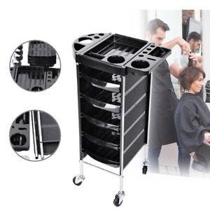Rollcontainer Friseurwagen Kosmetik RollBadregal mit 5 Schubladen Metallgestell