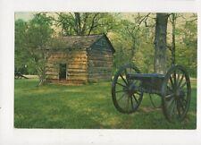The Brotherton House Chickamauga Battlefield Georgia USA Postcard 849a