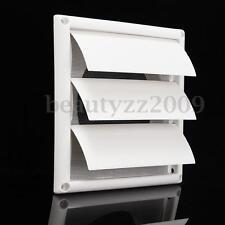 "200mm Gravity External Shutter Wall Grille Grill Duct Air Vent 6"" Exhaust Fan"