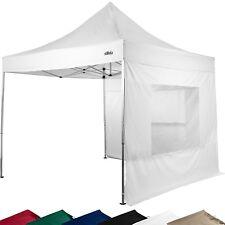 STILISTA Professionnel(le) Kiosque Pliant 3x3m IMPERMÉABLE ALU blanc Tente