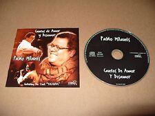 Pablo Milanés - Cantos de Amor Y Desamor (1997) 13 track cd Ex + Condition Rare