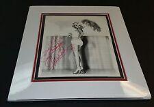 """ Mamie Van Doran"" / Custom Matted Autographed Photo."