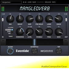 Eventide MANGLEDVERB Native Reverb Distortion Plug-in Audio Software Effect NEW