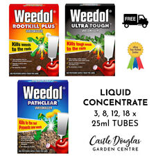 Weedol Pathclear / Rootkill Plus / Ultra Tough Weedkiller | Liquid Concentrate