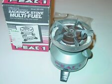 COLEMAN PEAK 1 MULTI-FUEL STOVE # 550-499 FOR BACKPACKING CAMPING HIKING