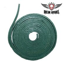 Green Leather Lace for Chaps, Vests, Saddlebags, Arts and Crafts (6 Feet Long)