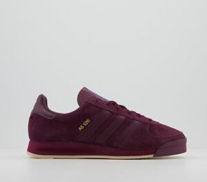 ADIDAS AS 520 MAROON / PALE NUDE  FW0679 UK 12 TRAINERS