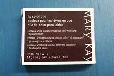 Mary Kay Lip Color Duo Raisin/Rosy Raisin NEW OLD STOCK IN BOX!! .05 OZ.  012747