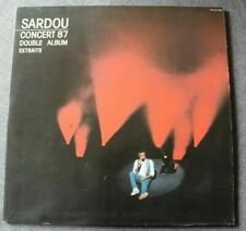 Michel Sardou, concert 87,  2LP - 33 Tours